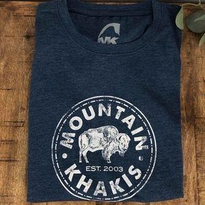 Mountain Khakis Women's T-Shirt Blue Small